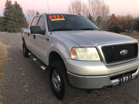 2007 Ford F-150 for sale at BELOW BOOK AUTO SALES in Idaho Falls ID