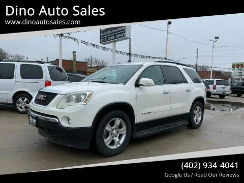 2008 GMC Acadia for sale at Dino Auto Sales in Omaha NE