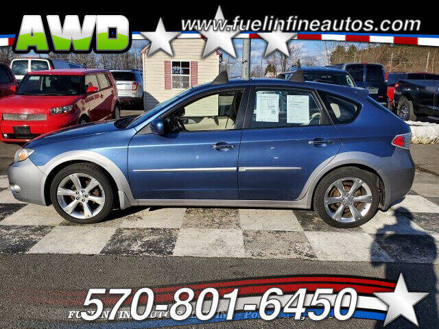 2009 Subaru Impreza for sale at FUELIN FINE AUTO SALES INC in Saylorsburg PA