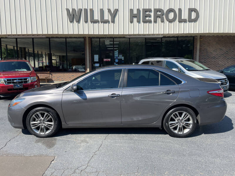 2017 Toyota Camry for sale at Willy Herold Automotive in Columbus GA