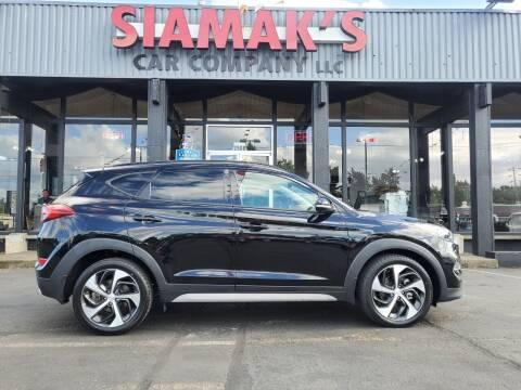 2018 Hyundai Tucson for sale at Siamak's Car Company llc in Salem OR