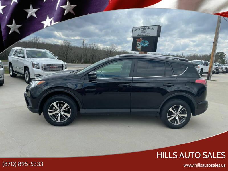 2018 Toyota RAV4 for sale at Hills Auto Sales in Salem AR