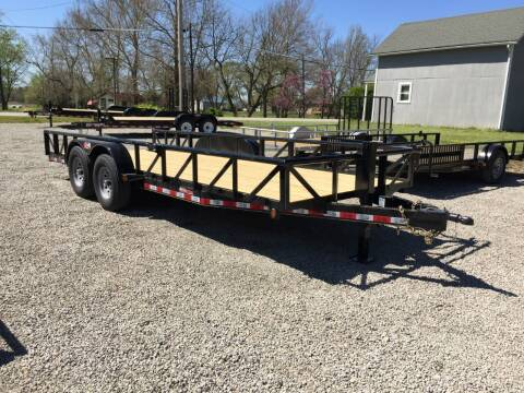 "2020 GRTrailers 82""x20' 14k Utility/car Hauler for sale at Bailey Auto in Pomona KS"