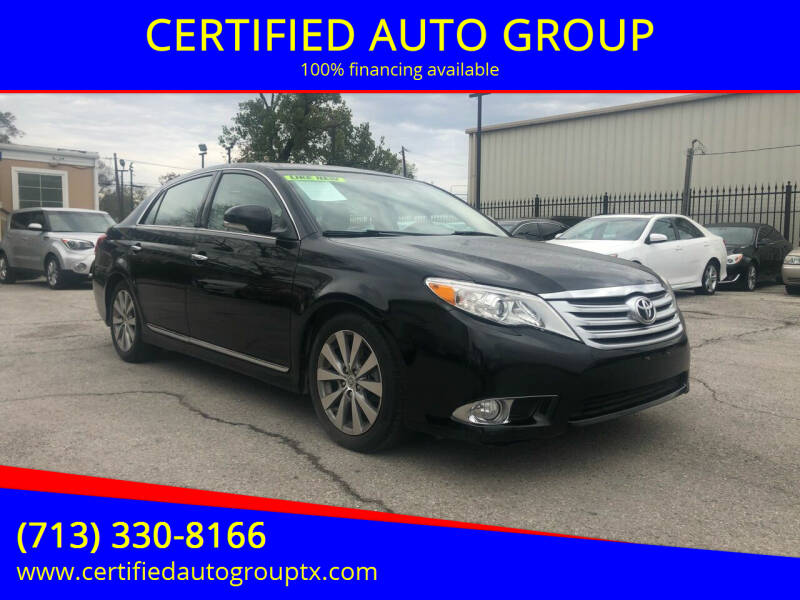 2011 Toyota Avalon for sale in Houston, TX