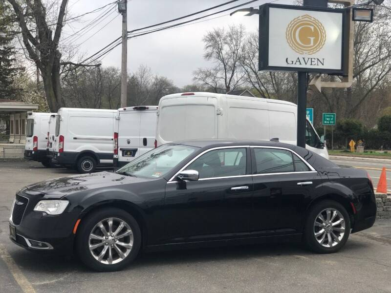 2018 Chrysler 300 for sale at Gaven Auto Group in Kenvil NJ