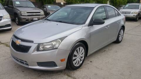 2012 Chevrolet Cruze for sale at Carspot Auto Sales in Sacramento CA