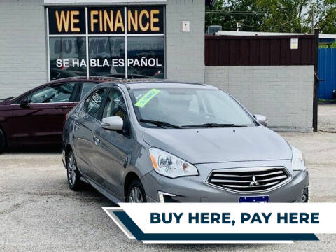 2017 Mitsubishi Mirage G4 for sale at Stanley Direct Auto in Mesquite TX