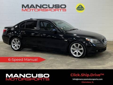 2006 BMW 5 Series for sale at Mancuso Motorsports in Glenview IL
