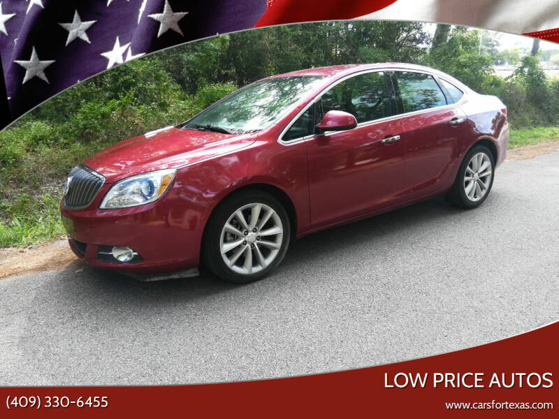 2014 Buick Verano for sale at Low Price Autos in Beaumont TX