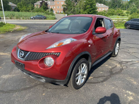 2012 Nissan JUKE for sale at Turnpike Automotive in North Andover MA