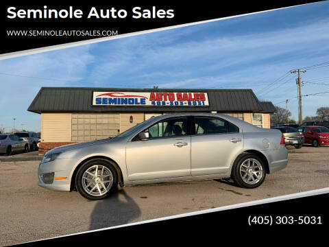 2012 Ford Fusion for sale at Seminole Auto Sales in Seminole OK