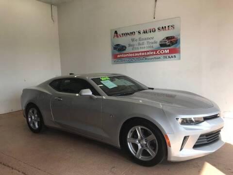 2018 Chevrolet Camaro for sale at Antonio's Auto Sales in South Houston TX