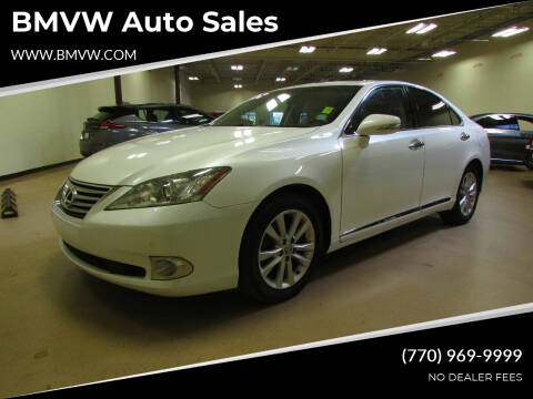 2010 Lexus ES 350 for sale at BMVW Auto Sales in Union City GA
