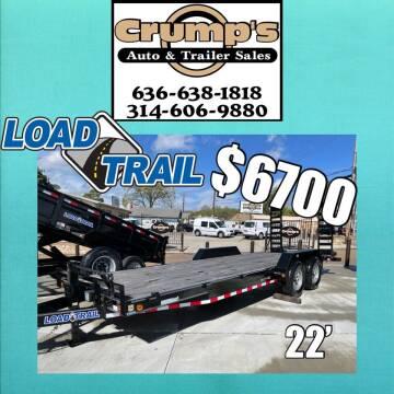 2022 Load Trail 22' Equipment Trailer