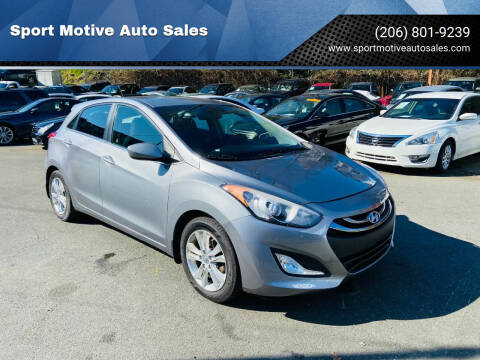 2014 Hyundai Elantra GT for sale at Sport Motive Auto Sales in Seattle WA