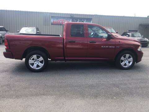 2012 RAM Ram Pickup 1500 for sale at Stikeleather Auto Sales in Taylorsville NC