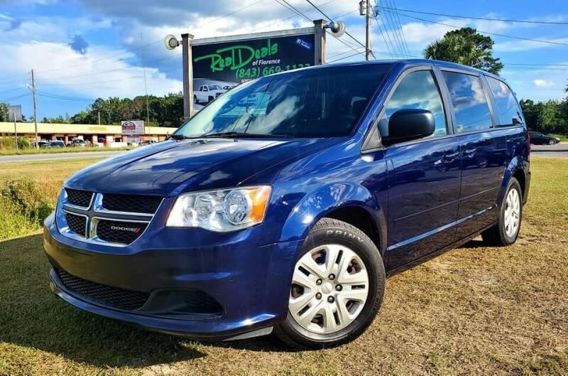 2016 Dodge Grand Caravan for sale at Real Deals of Florence, LLC in Effingham SC