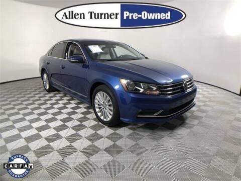 2017 Volkswagen Passat for sale at Allen Turner Hyundai in Pensacola FL