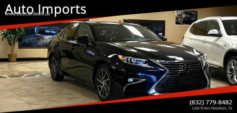 2016 Lexus ES 350 for sale at Auto Imports in Houston TX
