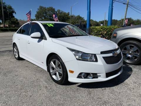 2014 Chevrolet Cruze for sale at AUTO PROVIDER in Fort Lauderdale FL