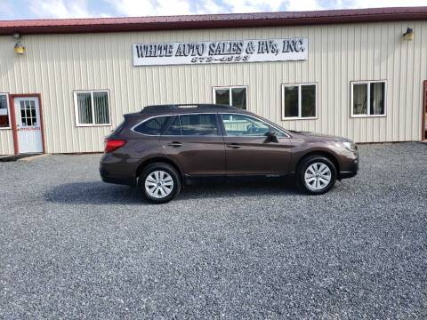 2019 Subaru Outback for sale at White Auto Sales Inc in Summersville WV