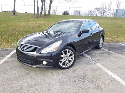 2013 Infiniti G37 Sedan for sale at FAYAD AUTOMOTIVE GROUP in Pittsburgh PA