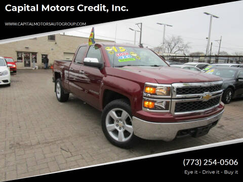 2015 Chevrolet Silverado 1500 for sale at Capital Motors Credit, Inc. in Chicago IL