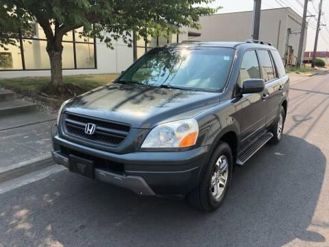 2005 Honda Pilot for sale at Washington Auto Sales in Tacoma WA