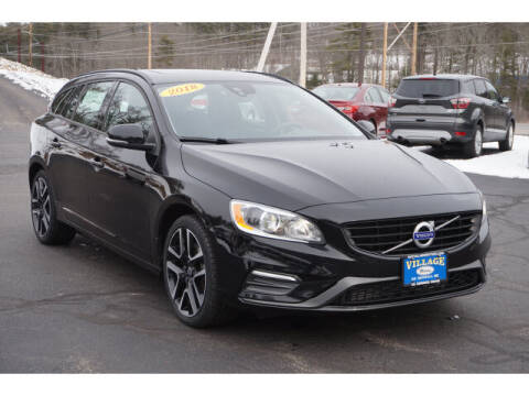 2018 Volvo V60 for sale at VILLAGE MOTORS in South Berwick ME