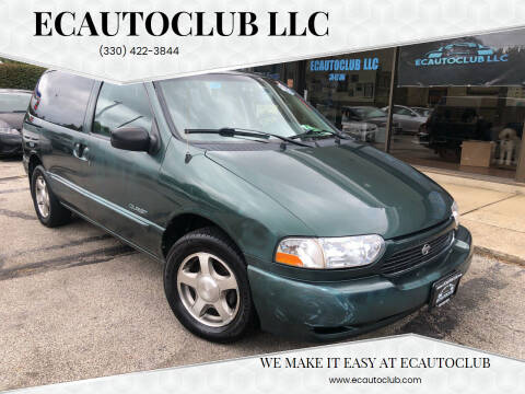 2000 Nissan Quest for sale at ECAUTOCLUB LLC in Kent OH
