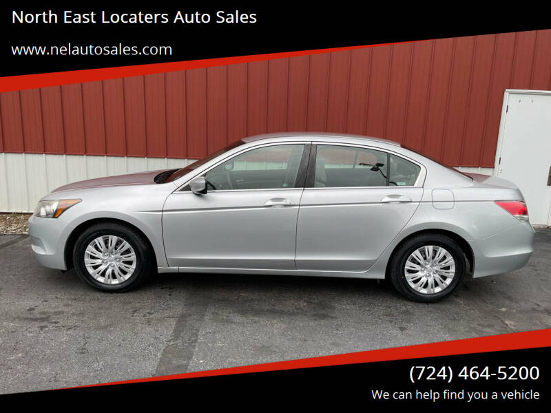 2009 Honda Accord for sale at North East Locaters Auto Sales in Indiana PA