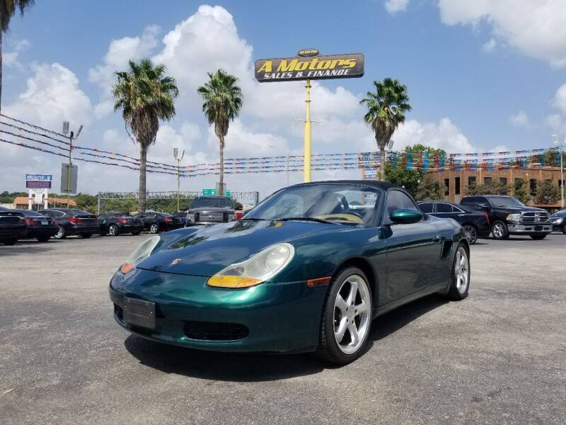 2000 Porsche Boxster for sale at A MOTORS SALES AND FINANCE in San Antonio TX