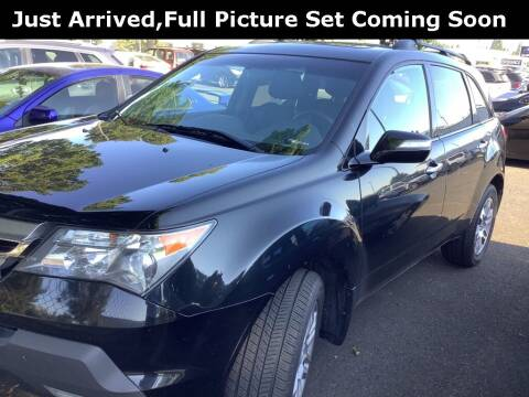 2009 Acura MDX for sale at Royal Moore Custom Finance in Hillsboro OR