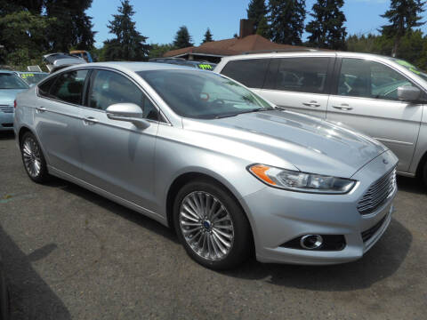 2014 Ford Fusion for sale at Lino's Autos Inc in Vancouver WA