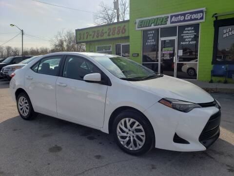 2019 Toyota Corolla for sale at Empire Auto Group in Indianapolis IN