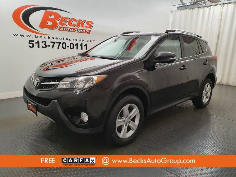 2013 Toyota RAV4 for sale at Becks Auto Group in Mason OH