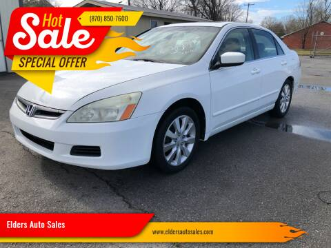 2006 Honda Accord for sale at Elders Auto Sales in Pine Bluff AR
