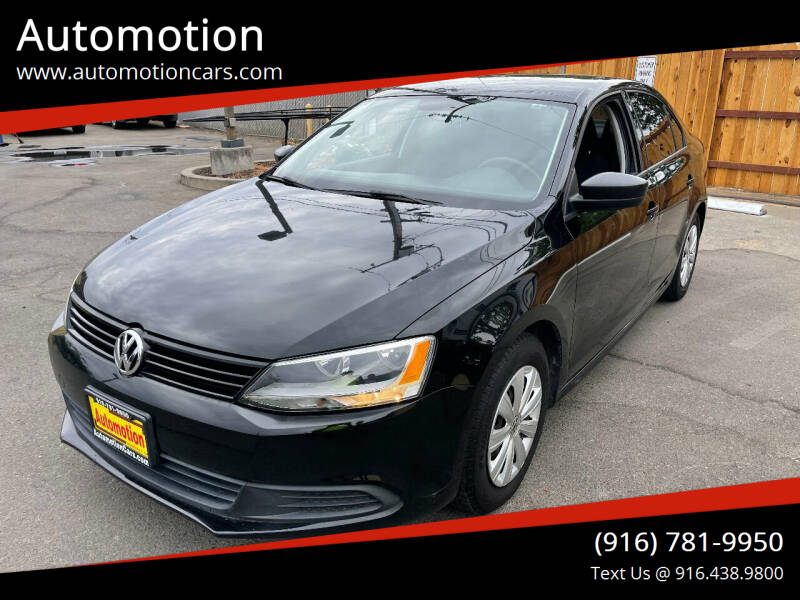 2014 Volkswagen Jetta for sale at Automotion in Roseville CA