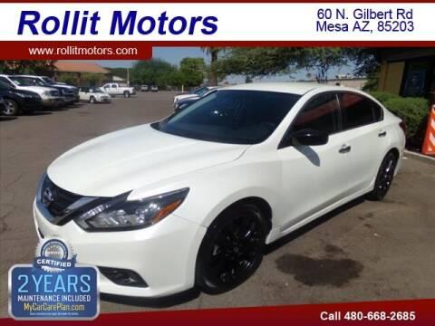 2017 Nissan Altima for sale at Rollit Motors in Mesa AZ