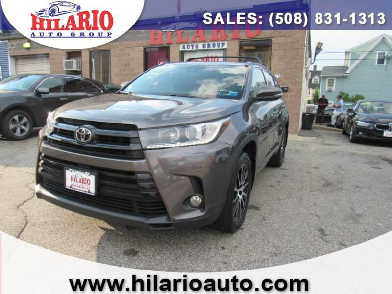 2017 Toyota Highlander for sale at Hilario's Auto Sales in Worcester MA