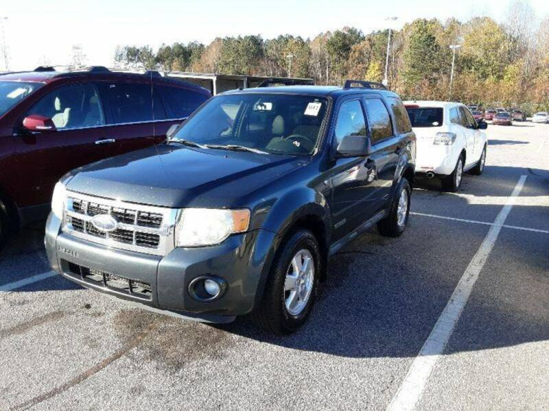 2008 Ford Escape for sale at J & R Auto Group in Durham NC