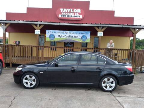 2008 BMW 5 Series for sale at Taylor Trading Co in Beaumont TX