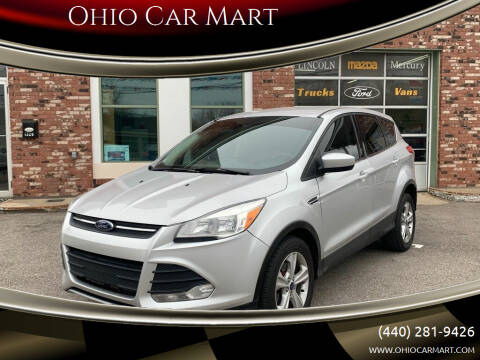 2013 Ford Escape for sale at Ohio Car Mart in Elyria OH