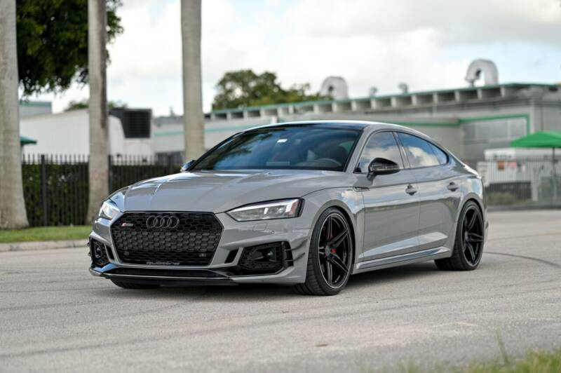 2019 Audi RS 5 Sportback for sale at EURO STABLE in Miami FL