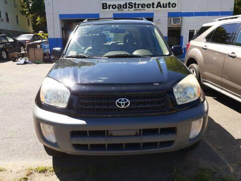 2001 Toyota RAV4 for sale at Broad Street Auto in Meriden CT