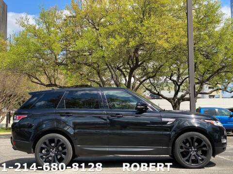 2015 Land Rover Range Rover Sport for sale at Mr. Old Car in Dallas TX