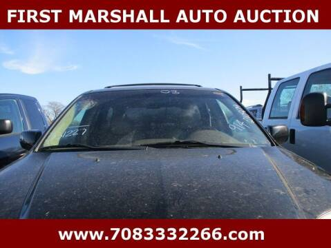 2003 Acura MDX for sale at First Marshall Auto Auction in Harvey IL