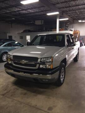 2005 Chevrolet Silverado 1500 for sale at Brian's Direct Detail Sales & Service LLC. in Brook Park OH