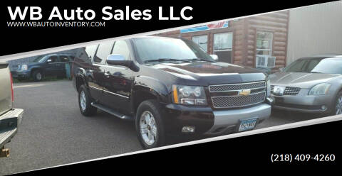 2007 Chevrolet Suburban for sale at WB Auto Sales LLC in Barnum MN