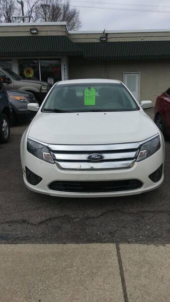 2012 Ford Fusion for sale at Jarvis Motors in Hazel Park MI